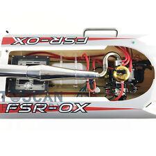 "54"" 30CC Gas G30H Fiber Glass RC Racing Speed Boat 43Mph Monohull ARTR Grey"