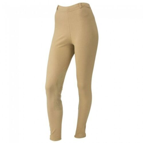 Tough 1 Black Ladies Lightweight Schooling Tights in size Small English 23-130