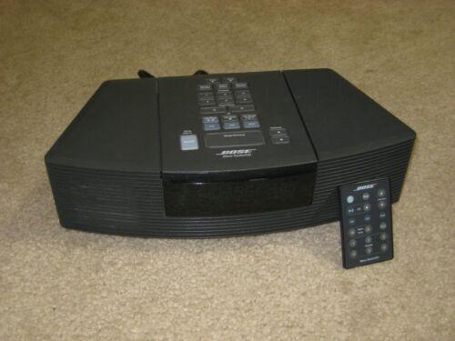 Bose Wave Radio AWRC1G Alarm Clock Radio AM//FM CD Player Black with Remote