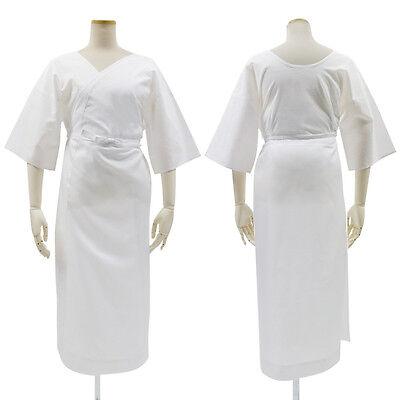 Japanese Women Traditional Kimono inner under wear Hitoe Naga Juban White JAPAN