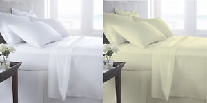 400-Thread-Count-Sateen-Egyptian-Cotton-Fitted-sheet-flat-sheet-or-Duvet-cover