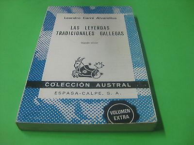 Libro Las Leyendas Tradicionales Gallegas - Leandro Carre Alvarellos