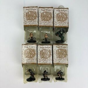 Lot-of-6-WizKids-Mage-Knight-Minions-Limited-Edition-Figures