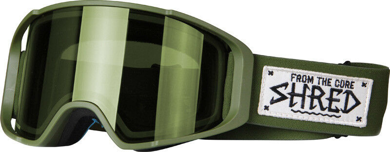 Shred Ski Goggles Snowboard Goggles Green Simplify Martial Nodistortion™ S2