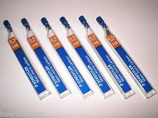 6x12 STAEDTLER 250 05 2B Druckbleistift Minen Bleistift TK Mine NEU&OVP