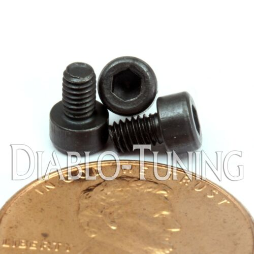 DIN 912 SOCKET HEAD Cap Screws Black Alloy CL 12.9 Qty 10 M2.5-0.45 x 4mm