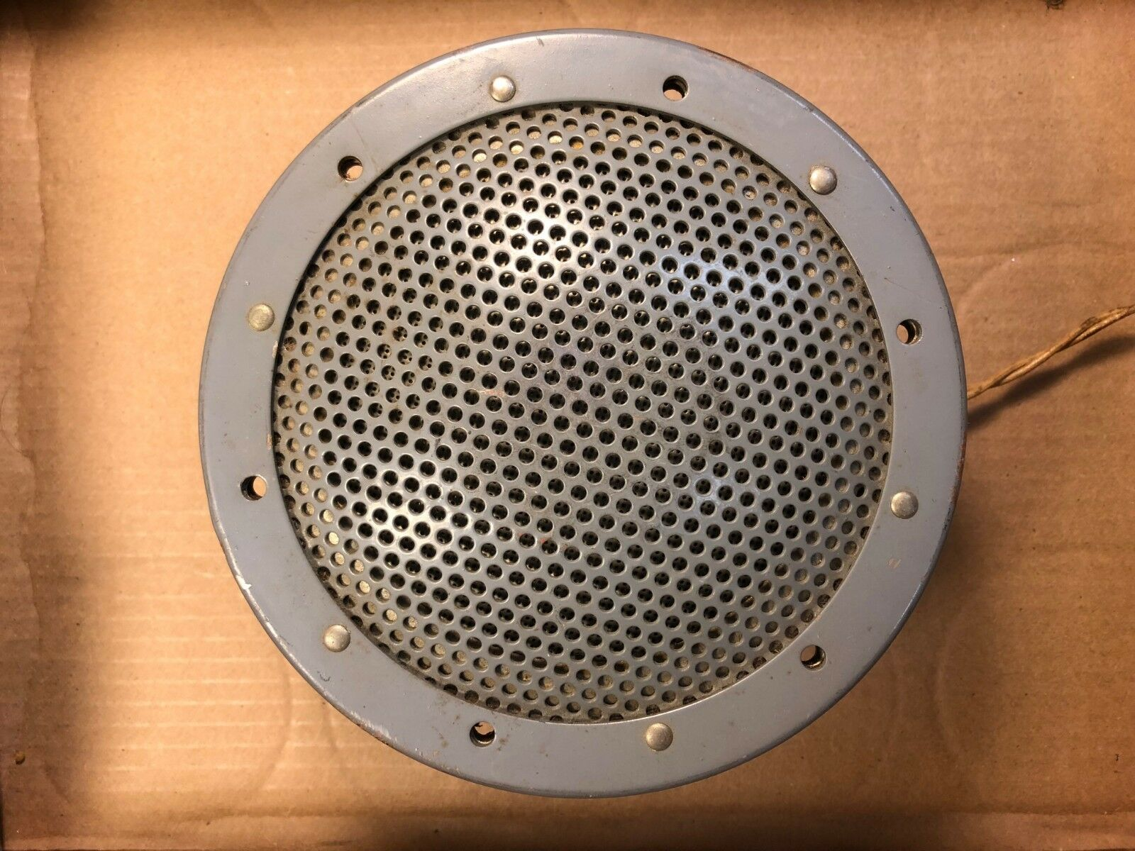 Rare Vintage 6.5  Phenolic Speaker US Military WWII RCA or Western Electric