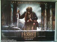 Cinema Poster: HOBBIT BATTLE OF THE FIVE ARMIES 2014 (Advance Quad) Ian McKellen