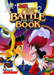 Jake-and-the-Never-Land-Pirates-Battle-for-the-Book-DVD-2015-Brand-new