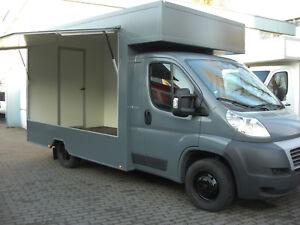 fiat ducato food truck verkaufswagen imbisswagen foodtruck 2013 euro5 ebay. Black Bedroom Furniture Sets. Home Design Ideas