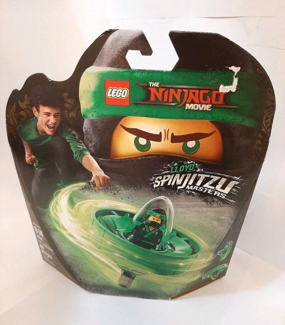 70628 The LEGO Ninjago Movie Lloyd New 2018! Spinjitzu Master 48 Pieces Age 6