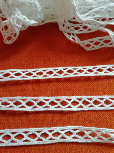 2 metros de punta de algodón no sabe elástico 1,2 cm de ancho cenefa CH 183