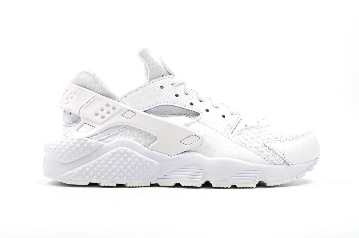 Para hombres Nike Tenis Air Huarache Athletic Tenis Nike de Moda 318429 111 Triple Blanco 055691