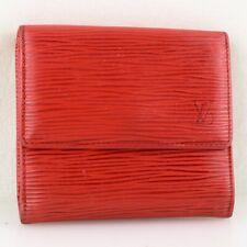 competitive price 7f2df 54e5a Louis Vuitton Men's Bifold Wallet Epi Porte Cartes Credit ...