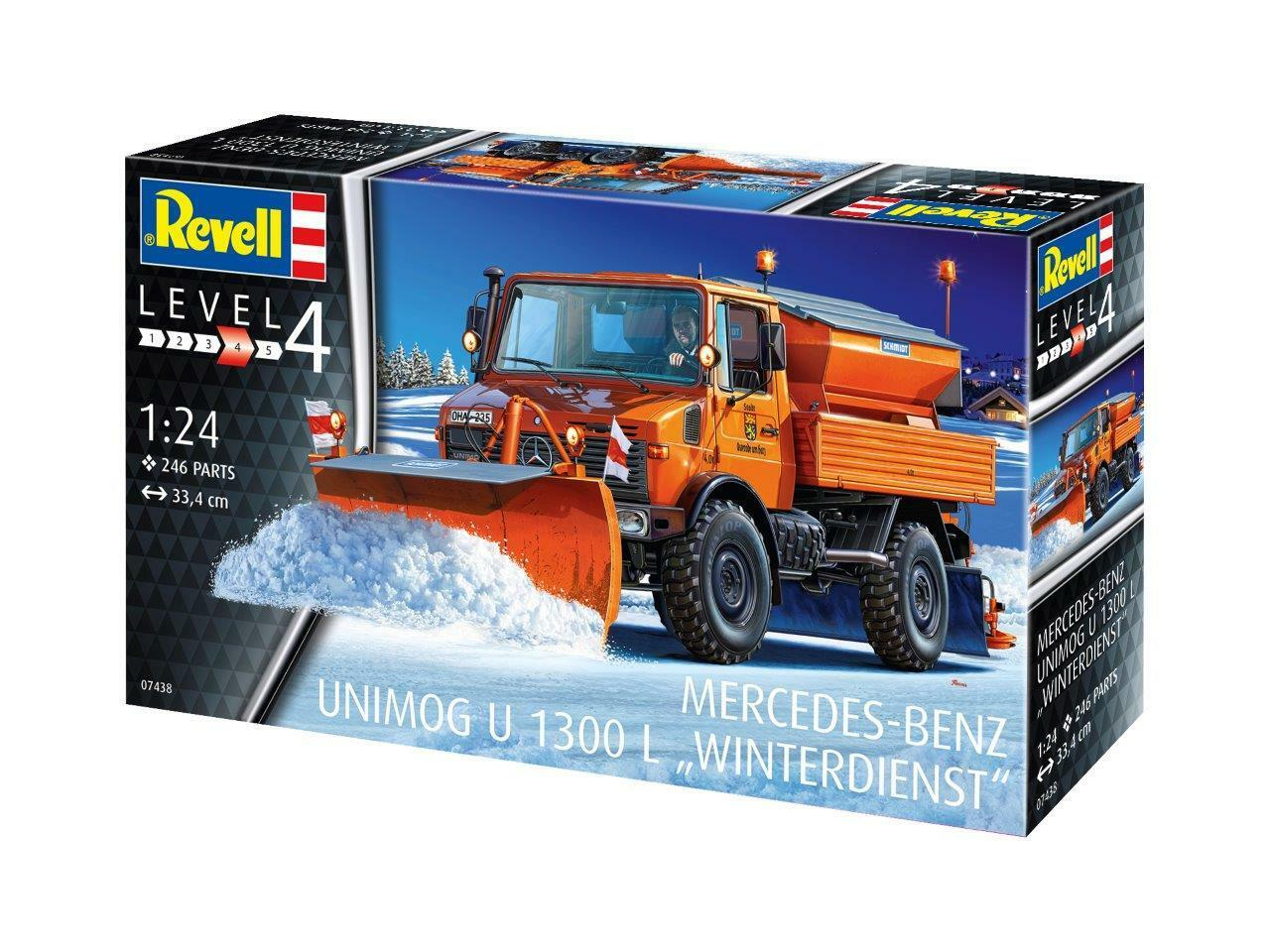 Revell 1 24 Mercedes-Benz Unimog U1300L  Winterdienst