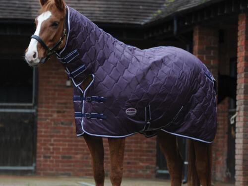 Brand NEW Cavallo Pony Cob Weatherbeeta WAVE Trapuntato 210D MEDIUM stabile RUG COMBO