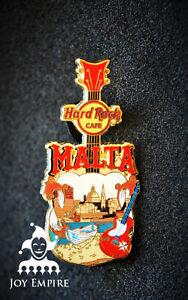 Hard Rock Cafe Malta Core City T V18 Guitar Pin 2018