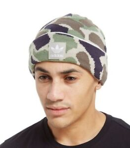00e5c3d8 Image is loading ADIDAS-ORIGINALS-CAMO-BEANIE-BNWT-ONE-SIZE-LAST-