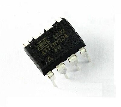 ATTINY13A-PU  Atmel   ISP-MC 1,8-5,5V 1K-Flash 20MHz DIP8  #BP 2 pcs