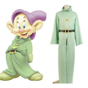 Details about Snow White And The Seven Dwarfs Dwarf Cosplay Costume From  Snow White