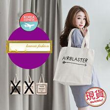 Japan Korea Fashion made in Korea Canvas Tote Shopping Shoulder Bag Handbag New