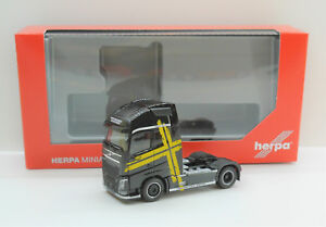 1-87-em3861-Nero-Herpa-Volvo-FH-GL-XL-Trattore-Performance-Line-034-NUOVO-OVP