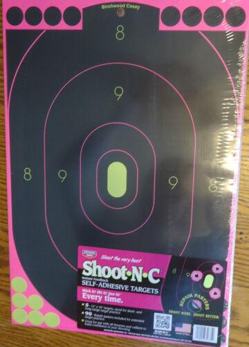5 PLUS 90 Self Adhésif Cible Cible Autocollants rifle gun pistolet 12x18
