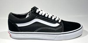 Vans old School Pro Popcush #1 Skate Shoe Mens Size 7 (Black/White)