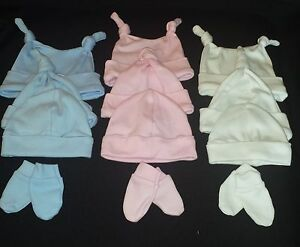 High Quality British Made 100/% Cotton ONE pair of Baby Scratch Mittens