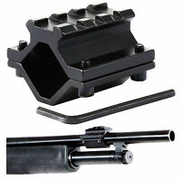 Universal Single-rail Shotgun Barrel Mount 3 Slots Picatinny Weaver Aluminum