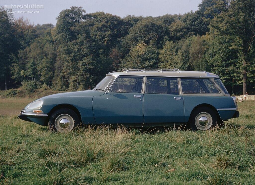 1 18 Norev-Citroen ID 19 BREAK 1967 Monte Carlo bleu