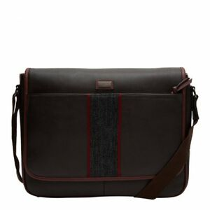 f48a78721bf7d Image is loading Ted-Baker-Mens-Smithy-webbing-despatch-Bag-Chocolate