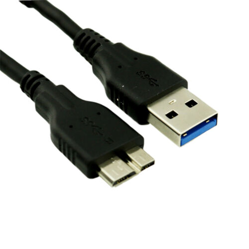 Short 10cm USB 3.0 A Male to Micro B Male 10 Pin Adapter High Speed Cable Cord
