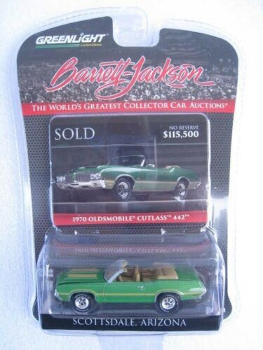 1970er Oldsmobile Cutlass 442  Banett Jackson  LIMITED EDITION  1:64  OVP  NEU
