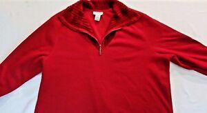 Avenue Women's Plus Size Red Sweater Size 22-24