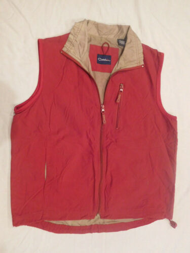Catalina Vintage Women's Vest Small Red Sleeveless