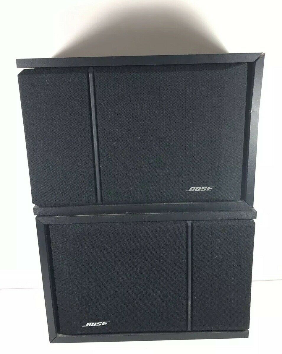 Bose 201 Series III Main   Stereo Speakers Part 1 And Part 2 ASIS READ DESC