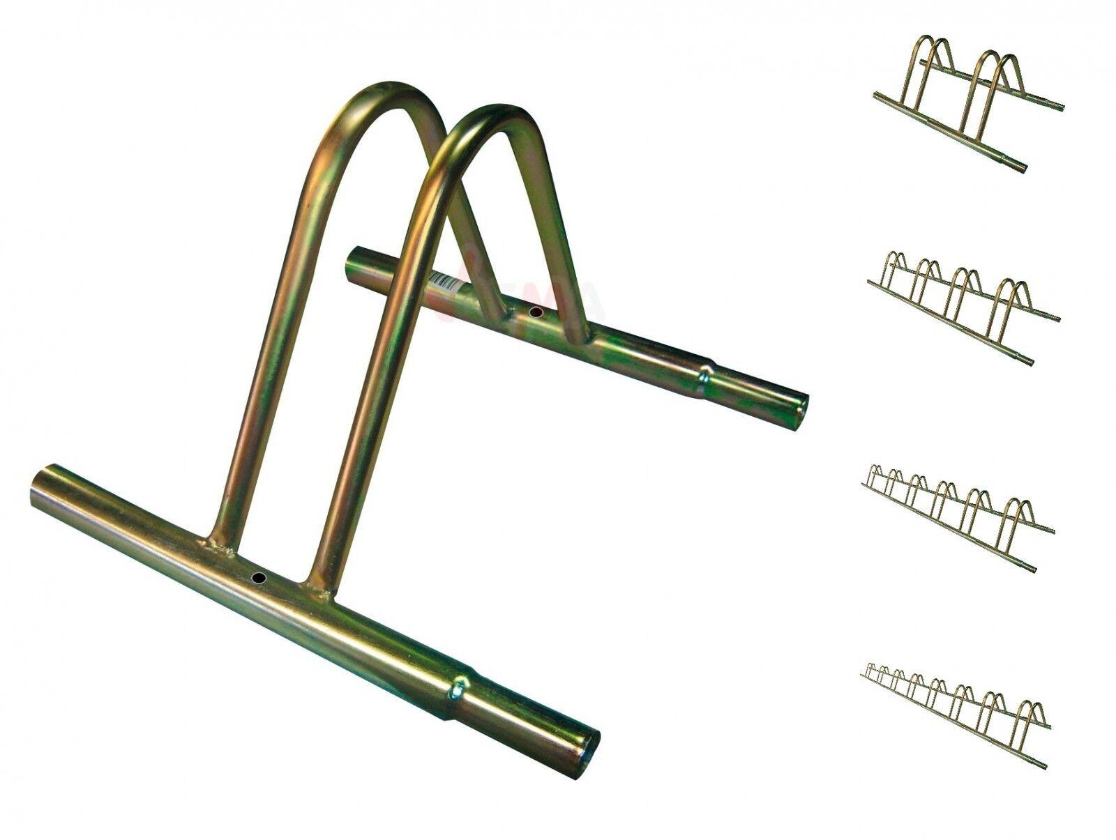 Set Stahl Fahrradständer 2, 4, 6, 8 Fahrräder aller aller Fahrräder Fahrradtypen Fahrradhalter a3293a
