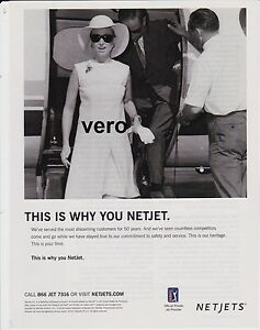 Collectibles Netjets Magazine Print Ad 2015 Clipping Private Jet Airplane Aircraft Netjets Private Aircraft