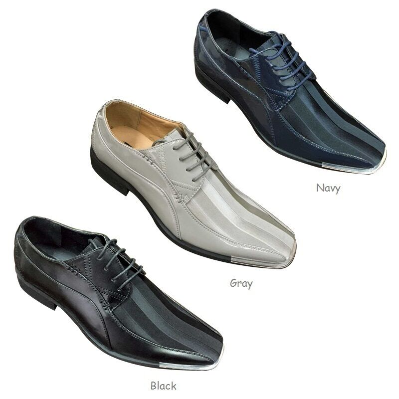 Men's Party Elegant Synthetic Oxfords Striped Party Men's Wear Shoes Size 8.5 - 13 55fbe9