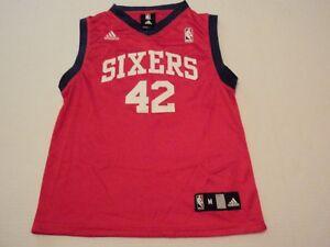 Elton Brand Philadelphia 76ers Adidas NBA Jersey  42 Youth Medium ... fa269f434da9