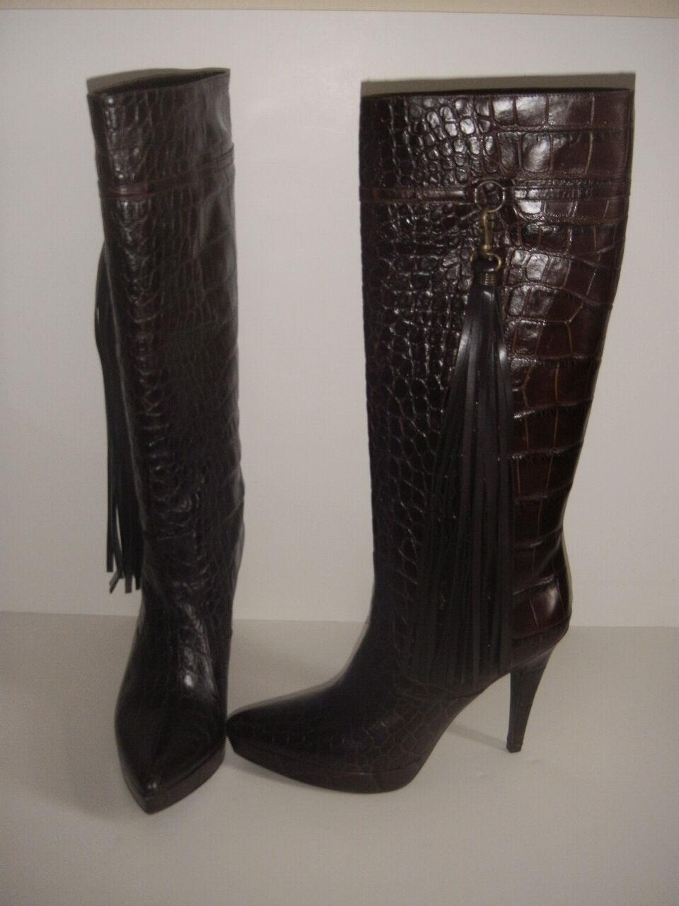 Charles David crocodlie botas botas botas Con Borlas a morir por Talle 8.5 nos debe hasta  ventas en linea