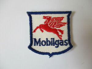 American Oil Mobil Vintage Badge Patch
