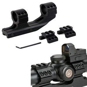Tactical-1-034-Cantilever-Flat-Top-Dual-Ring-Scope-Picatiiny-Mount-for-Vortex-Nikon