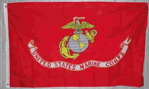 US MARINES 2x3ft Flag Polyester united states us military