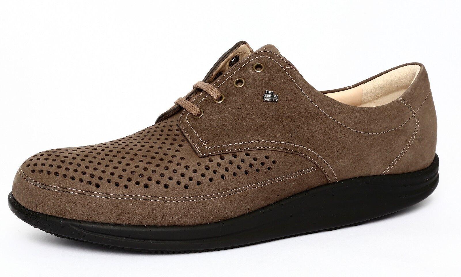 Finn Comfort Harajuku Women's Brown Flat Sneaker Sz 10US 7.5UK 3144