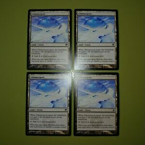 Glimmerpost-x4-Scars-of-Mirrodin-4x-Playset-Magic-the-Gathering-MTG