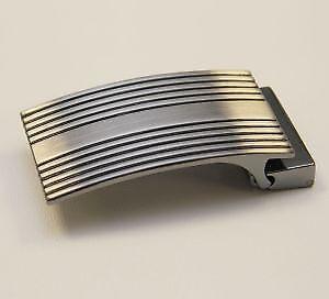 Boucle de ceinture à griffe DESIGN - 35 mm - SATINE   eBay 4de5dfa2506