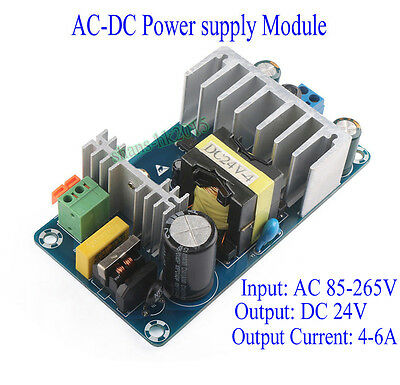 AC 85-265V to DC 24V  6A Power Supply Module  Switching Power Supply Board