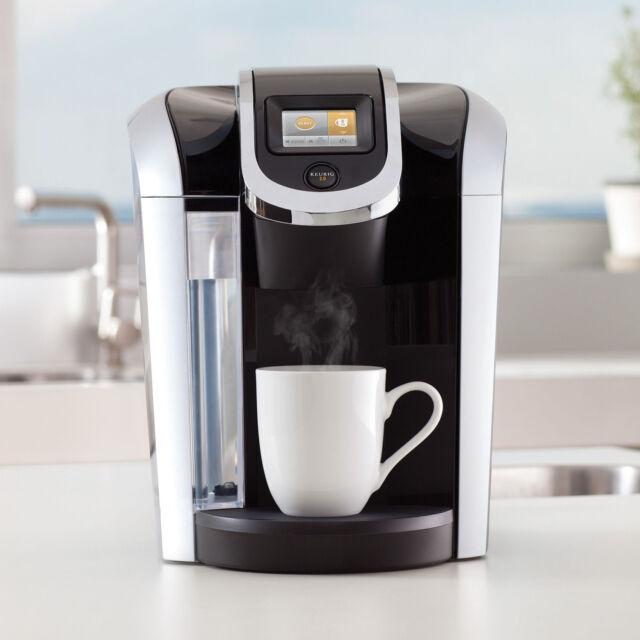 KEURIG 2.0 k 460 k 450 K-CUP Coffee Maker & bonus 20 kcup sampler SILVER-BLACk